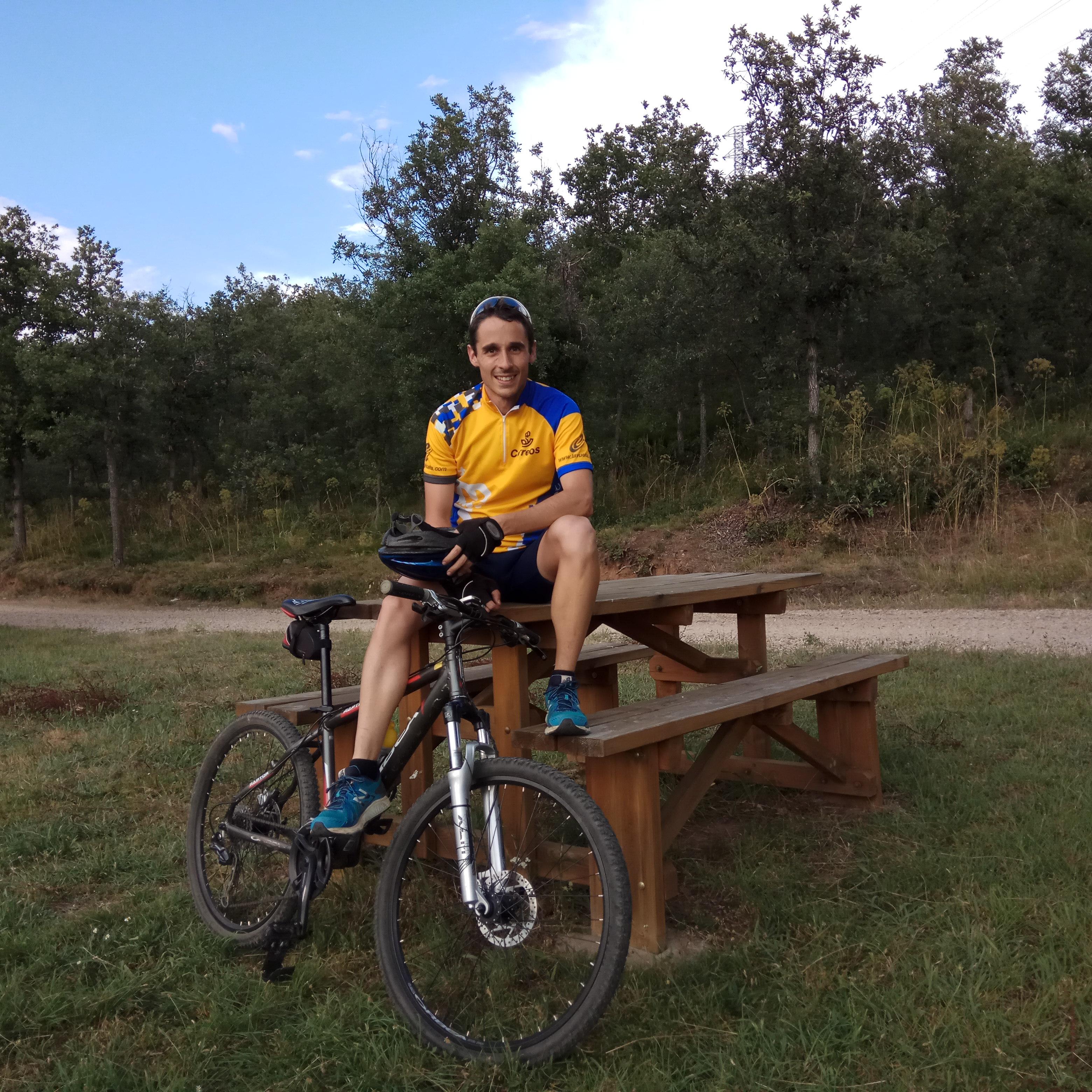 Entrenamiento bici